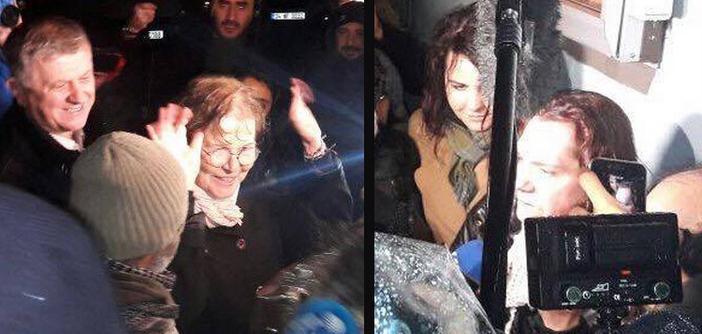 Alpay, Erdoğan ve Kaya cezaevinden çıktı