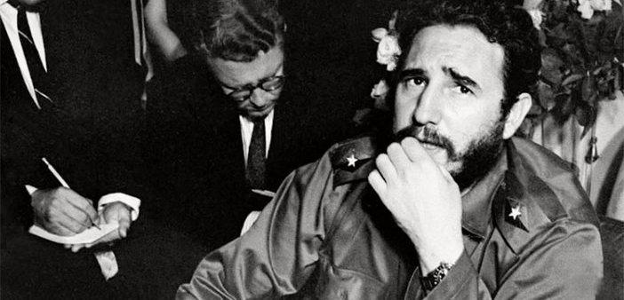 """Fidel'i bu halk devirmez"""