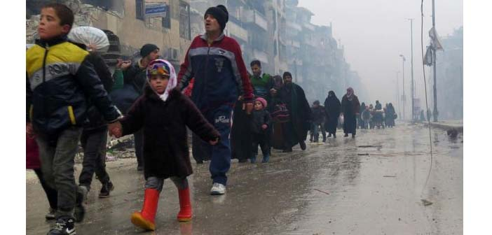 Reuters: Halep'te tahliye perşembeye ertelenebilir