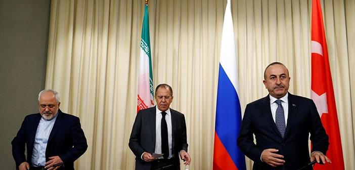 Lavrov: Suriye'de askeri çözüm olmadığı konusunda mutabıkız