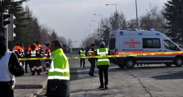 Kayseri'de bombalı saldırı: 13 asker hayatını kaybetti, 48 yaralı