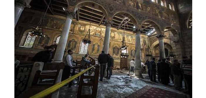 Mısır'da kiliseye saldırı: Ölenlerin çoğu kadın ve çocuk