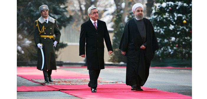 Ruhani'den Ermenistan'la işbirliği mesajı
