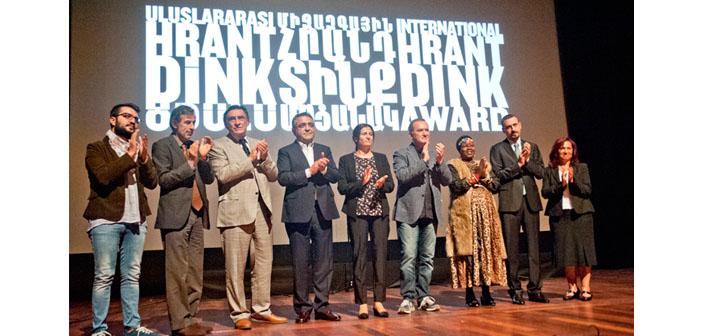 8th Hrant Dink Award granted