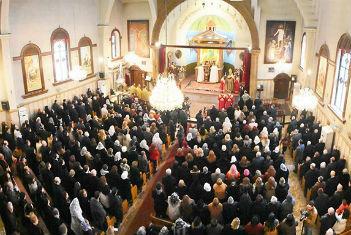 Halep'te 6 yıl sonra kilise çanları ilk defa çaldı