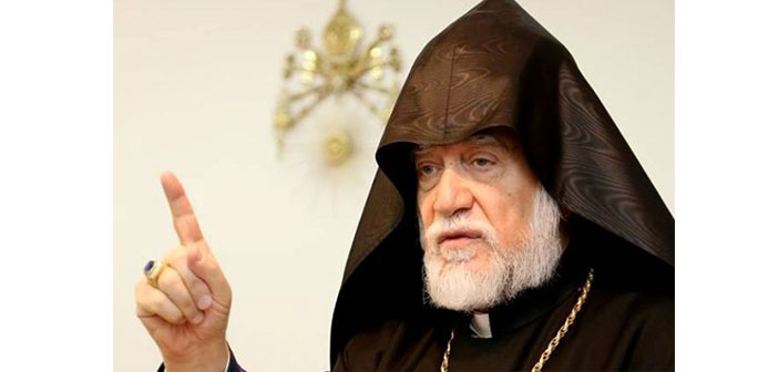 Kilikya Katolikosu Dzınunt'ta Halep'te olacak