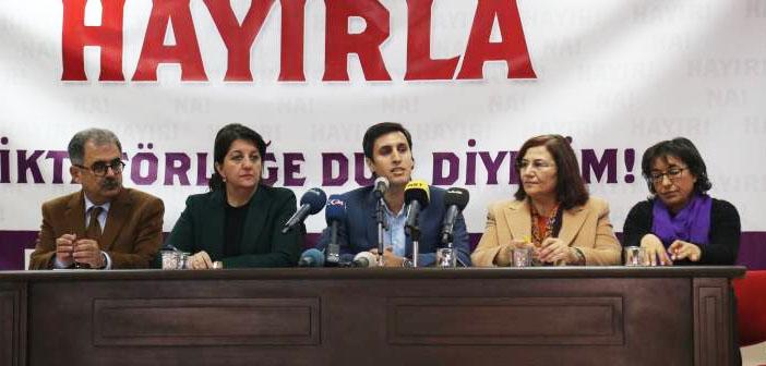 Diyarbakır'da 'Hayır' deklarasyonu