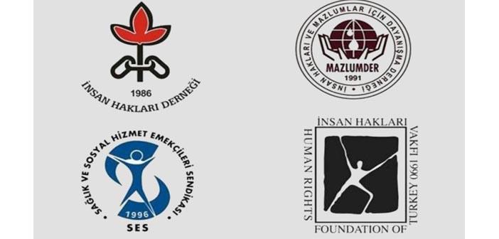 İnsan hakları örgütlerine TCK 301'den soruşturma