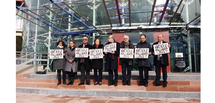 HDP appeals to ECHR for arrested co-chairs