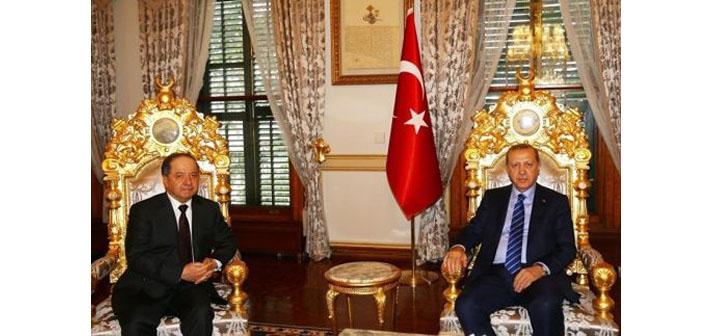 Barzani Türkiye'de