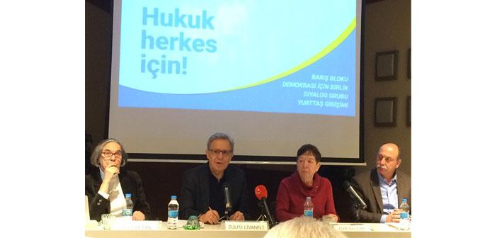 Dört gruptan ortak çağrı: HDP referandum çalışmalarını özgürce sürdürsün