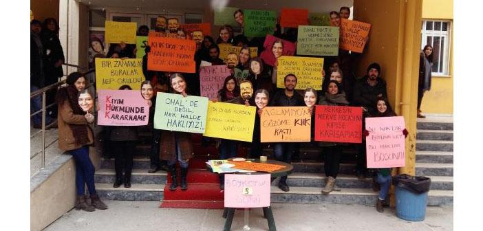 Türkiye'nin ilk tiyatro bölümünün en zor günleri