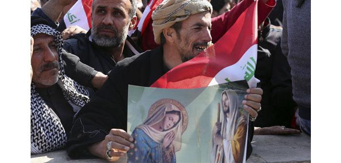 Kilise önderlerinden Irak'a ziyaret