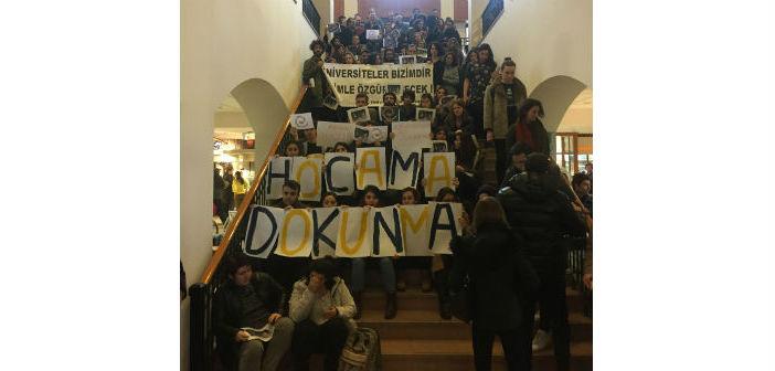 Üniversitelerde 'Akademi biat etmez' eylemleri sürüyor