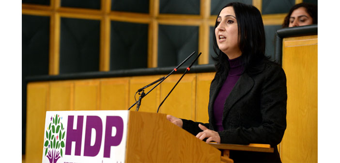 Figen Yüksekdağ disqualified from membership of the parliament