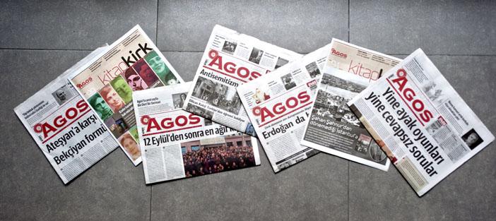 Agos'un sadece okuru değil, destekçisi olun