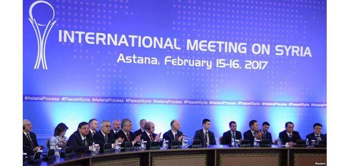 Üçüncü Astana görüşmeleri başladı
