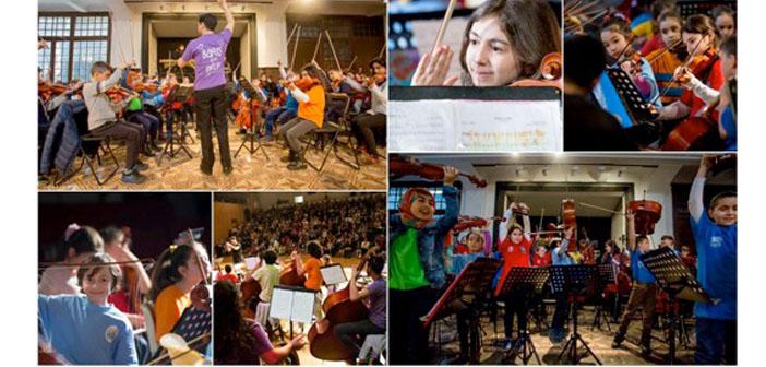 'Barış için Müzik' İstanbul'da sahnede