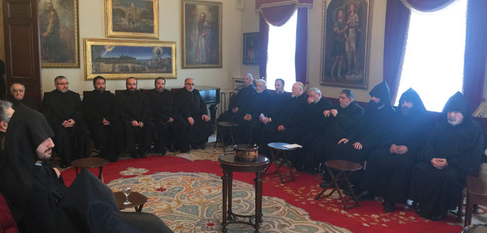 What happened in the patriarchate yesterday?