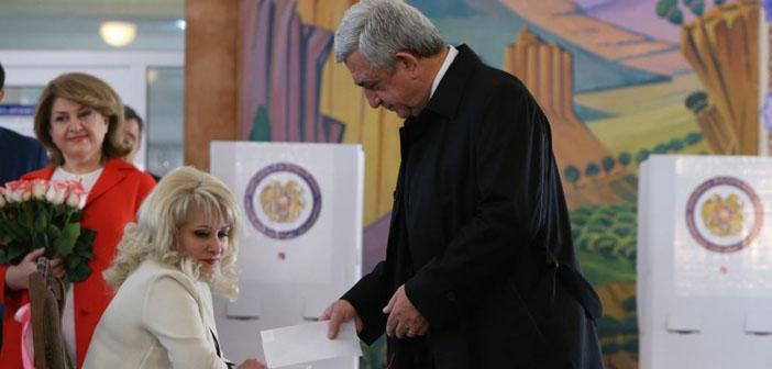 Ermenistan'da seçim: Cumhuriyetçi Parti yine iktidarda