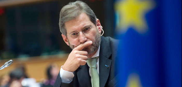 Hahn: Türkiye'nin AB üyeliği gerçek dışı olmaya başladı