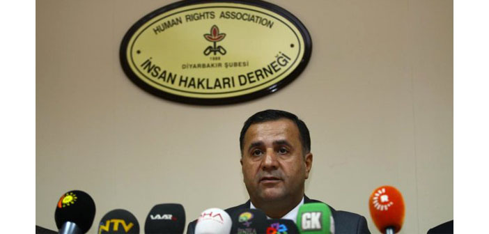 Human Rights Association Diyarbakir Branch Director Raci Bilici detained