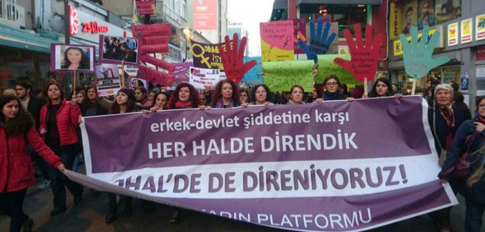 8 Mart yasağı kalktı, kadınlar sokaklarda olacak