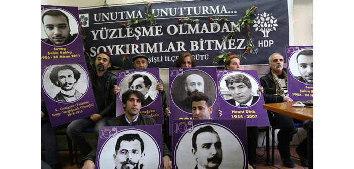 "Police interfered with ""April 23,5 commemoration"""