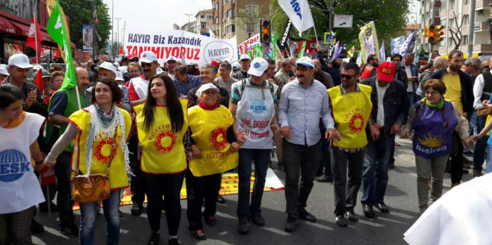 İstanbul'da 1 Mayıs yürüyüşü başladı