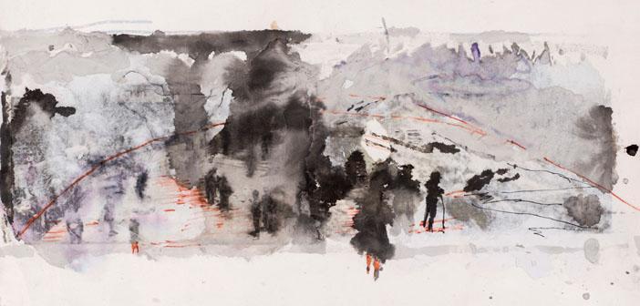 Arzu Başaran'ın son sergisi: Soykırım, tehcir, göç…
