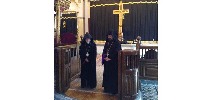 Bekçiyan için dua edildi