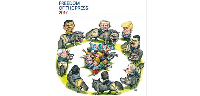 Freedom House: Dünyanın yarısında özgür basın yok