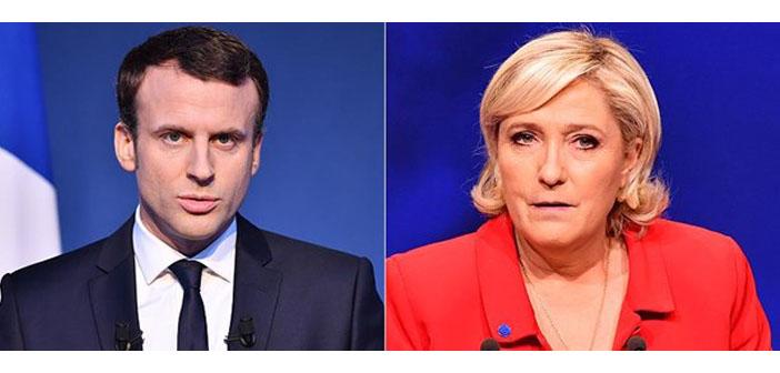 Fransa'da cumhurbaşkanlığı seçimi: Macron ve Le Pen ikinci turda