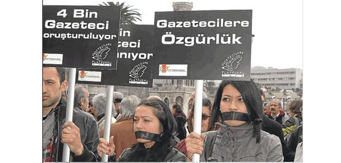 Türkiye basın özgürlüğünde 'kara liste'ye girmek üzere