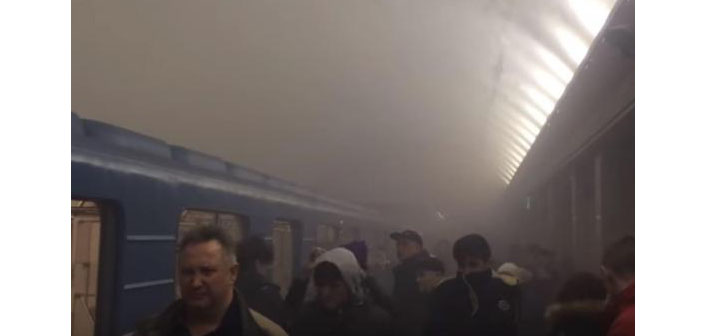 Explosion in St. Petersburg metro: at least 10 dead