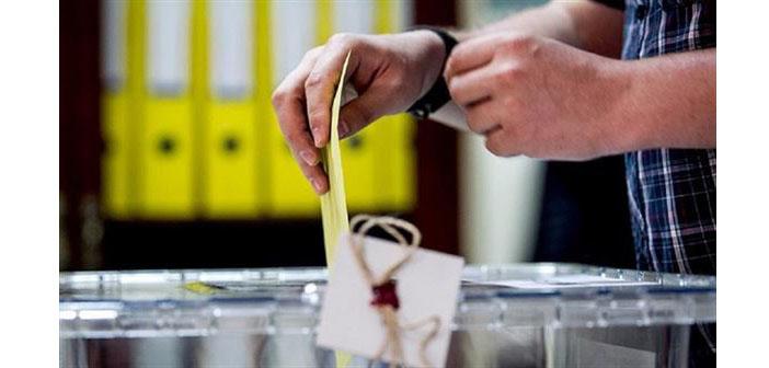 Yurtdışında oy verme işlemi sona erdi