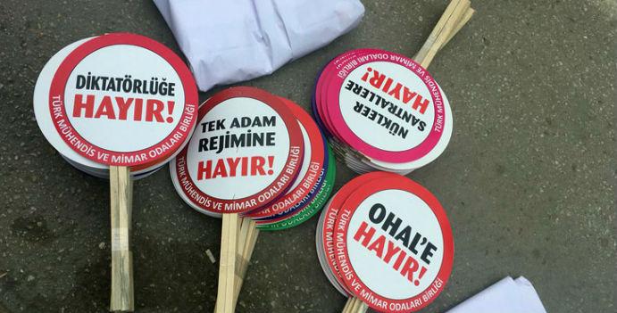 Ankara'da 1 Mayıs: Bazı pankartlar alana sokulmuyor