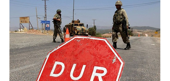 Diyarbakır'da 16 köyde sokağa çıkma yasağı