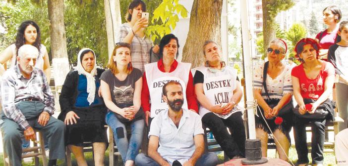 İki 'Gezi Annesi'nden dayanışma için açlık grevi