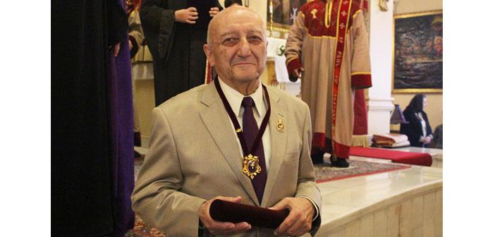 Hovhannes Çekiçyan'a büyük onur