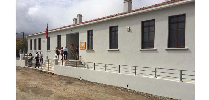 Sports facility opened in Imbros Greek School