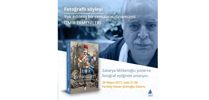 Nazar Şirinoğlu Salonu'nda İzmir Ermenileri konuşulacak