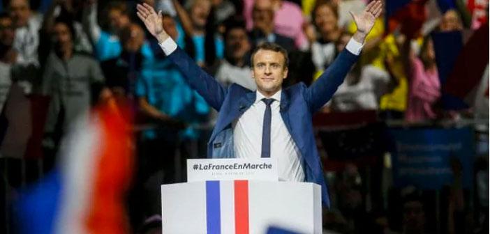 Fransa'da Cumhurbaşkanlığı seçiminin galibi Macron