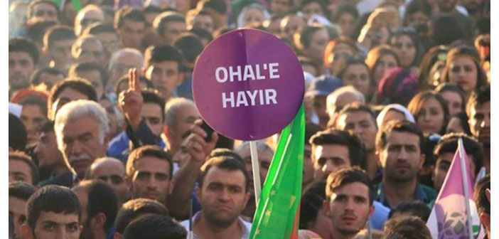 'Bu toprakların ortak sahipleri'nden OHAL çağrısı
