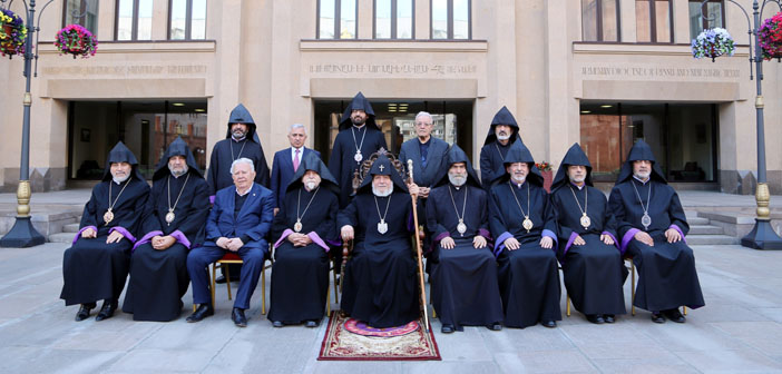 Supreme Religious Council expresses support to Bekçiyan