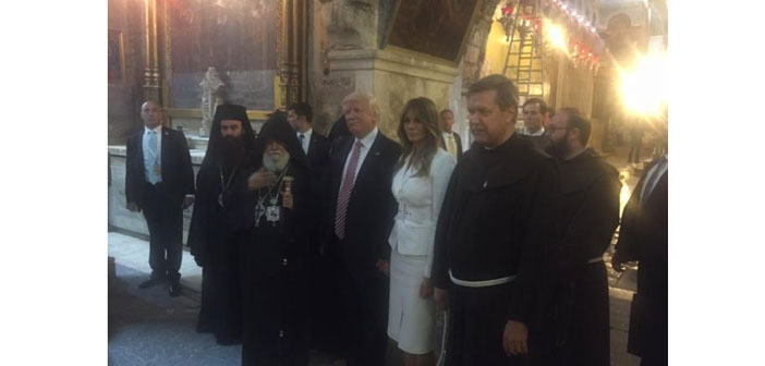 Trump meets religious leaders in Jerusalem