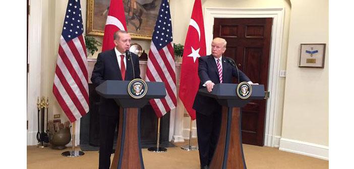 Trump-Erdoğan görüşmesi sonrası basın toplantısı