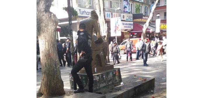 Açlık grevindeki eğitimcilerin direniş alanına polis müdahalesi: Dört gözaltı