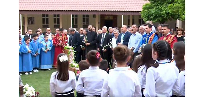 Zaho'daki Ermeniler Soykırım kurbanlarını andı