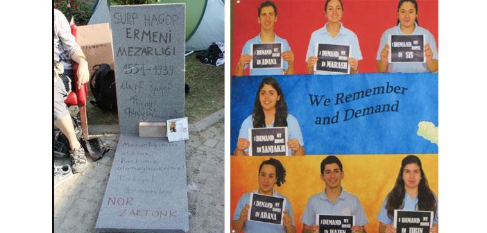 Dört ülkeden Ermeni gençlerin 1915 belleği